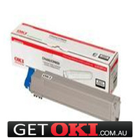 Black Toner Genuine to suit OKI C910 15,000 Pages (44036040)