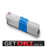 Magenta Toner Genuine OKI C310 C330 C331 MC361DN MC362DN 2,000 Pages (44469756)