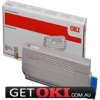 Cyan Toner Genuine to suit OKI C833 10,000 Pages (46443107)