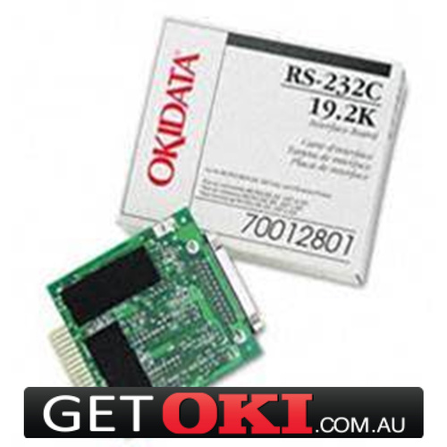OKI Serial RS232C Card Interface For ML320, 321, 390, 391, 720, 721,790, 791, 4410 (44455103)